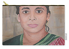 Lady From India Carry-all Pouch