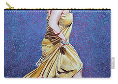 Lady In Hurry Carry-all Pouch