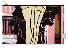 Lady In Stockings_1 Carry-all Pouch