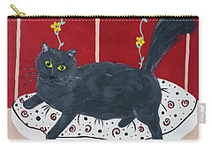 Lady Kitty Carry-all Pouch