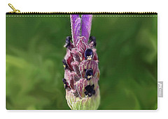 Lady Lavender Carry-all Pouch