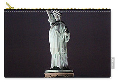 Lady Liberty Carry-all Pouch by Karen Silvestri