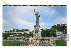 Lady Liberty On Mackinac Island Carry-all Pouch
