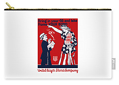 Lady Liberty War Bonds - Ww1 Carry-all Pouch