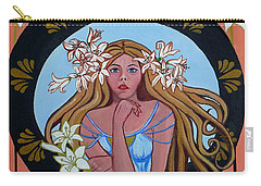 Lady Of The Lilly's  Carry-all Pouch