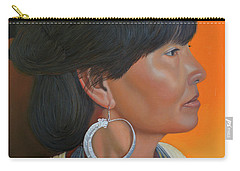 Lady Of Sapa Carry-all Pouch