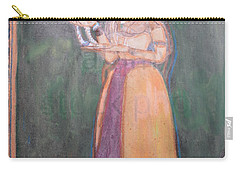 Lady Of The Court Carry-all Pouch by Vikram Singh