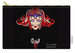 Lady Red Carry-all Pouch