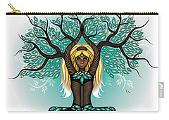 Lady Shaman Tree Carry-all Pouch by Serena King
