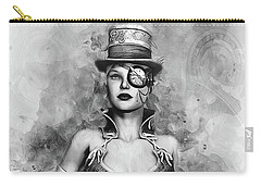 Lady Steampunk Carry-all Pouch