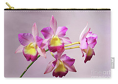 Laeliocatonia Hybrid Orchids V2 Carry-all Pouch