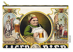 Lager Beer Stock Advertising Poster 1879 Carry-all Pouch