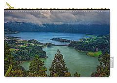 Lagoa Verde E Lagoa Azul Carry-all Pouch