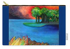 Laguna Blu Carry-all Pouch by Elizabeth Fontaine-Barr