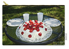 Carry-all Pouch featuring the photograph Laid Summer Table by Kennerth and Birgitta Kullman