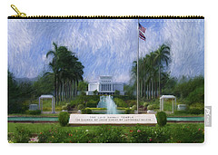Laie Hawaii Temple Carry-all Pouch