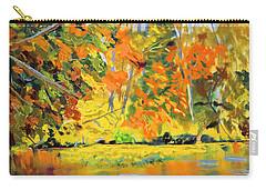 Lake Aerofloat Fall Foliage Carry-all Pouch