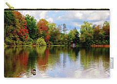 Lake At Forest Park Carry-all Pouch