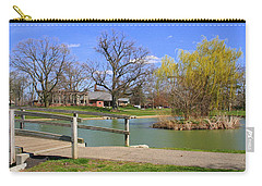 Lake At Schiller Park Carry-all Pouch