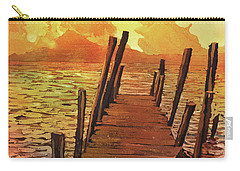 Lake Atitlan- Guatemala Carry-all Pouch by Ryan Fox