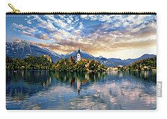 Lake Bled Autumn View Carry-all Pouch