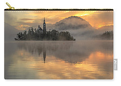 Lake Bled Sunrise Slovenia Carry-all Pouch