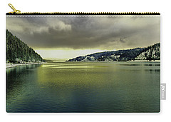 Carry-all Pouch featuring the photograph Lake Coeur D' Alene by Jeff Swan