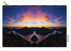 Lake Crescent Reflection Carry-all Pouch