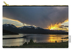 Lake Dillon And Gore Range Sunset Carry-all Pouch