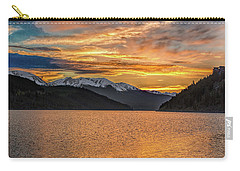 Lake Dillon Sunset Carry-all Pouch