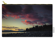 Carry-all Pouch featuring the photograph Lake Dreams by Jan Davies