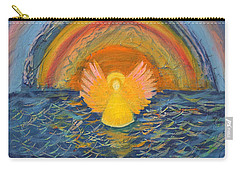 Lake Erie Tie Dye Angel Carry-all Pouch