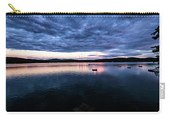 Carry-all Pouch featuring the photograph Lake Evening by Tom Singleton