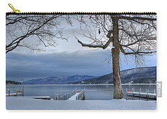 Lake George In The Winter Carry-all Pouch