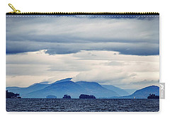Carry-all Pouch featuring the photograph Lake George Is The Queen Of American Lakes by Kendall McKernon