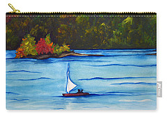 Lake Glenville  Sold Carry-all Pouch by Lil Taylor