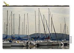 Lake Guntersville Alabama Sailboat Harbor Carry-all Pouch by Kathy Clark