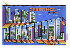 Lake Hopatcong Greetings Carry-all Pouch