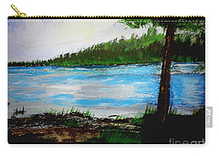 Lake In Virginia The Painting Carry-all Pouch