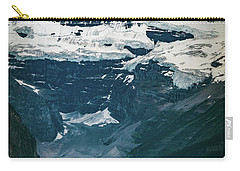 Carry-all Pouch featuring the photograph Lake Louise At Distance by William Lee