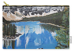 Lake Louise  Carry-all Pouch by Francine Heykoop