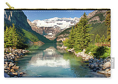 Carry-all Pouch featuring the photograph Lake Louise by Mary Jo Allen