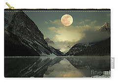 Lake Louise Moon Glow Carry-all Pouch by Andrea Hazel Ihlefeld
