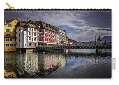 Lake Lucerne  Carry-all Pouch by Carol Japp