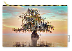 Lake Maurepas In Pastels Carry-all Pouch
