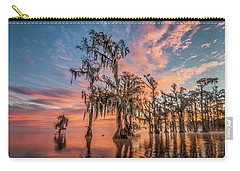Lake Maurepas On Fire Carry-all Pouch