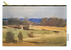 Lake Michigan Across The Field Carry-all Pouch