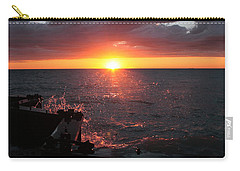 Carry-all Pouch featuring the photograph Lake Michigan Sunset by Bruce Patrick Smith