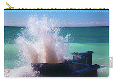Lake Michigan Wave Crash Carry-all Pouch