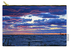 Lake Michigan Windy Sunrise Carry-all Pouch